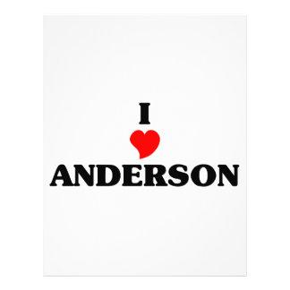 Amo Anderson Membrete Personalizado