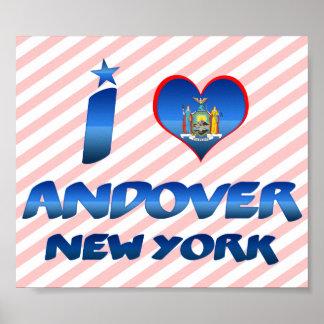 Amo Andover Nueva York Impresiones
