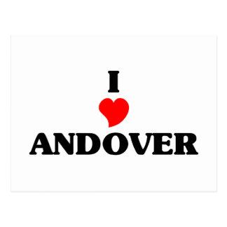 Amo Andover Tarjeta Postal