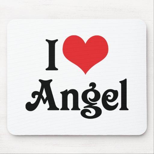 Amo ángel mouse pads