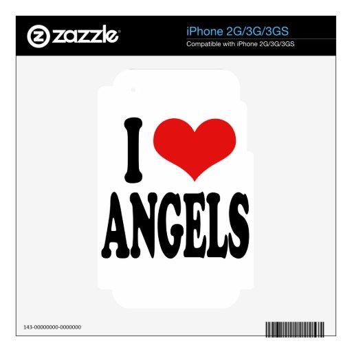 Amo ángeles iPhone 3G skin