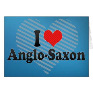 Amo anglosajón tarjeton