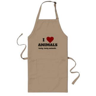 Amo animales de los animales (sabroso, sabroso…) delantal