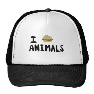 Amo animales gorro de camionero
