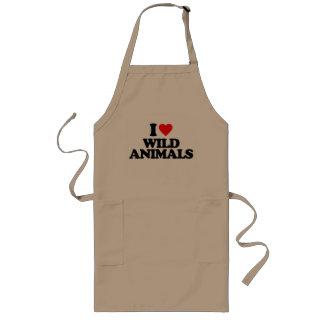 AMO ANIMALES SALVAJES DELANTALES