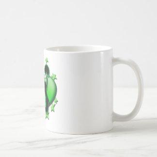 Amo animar (el verde) taza
