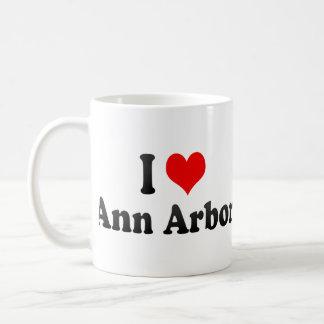 Amo Ann Arbor, Estados Unidos Taza De Café