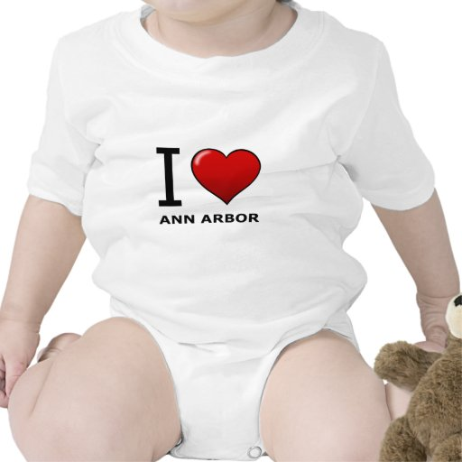AMO ANN ARBOR, MI - MICHIGAN TRAJE DE BEBÉ