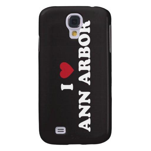 Amo Ann Arbor Michigan Funda Para Galaxy S4
