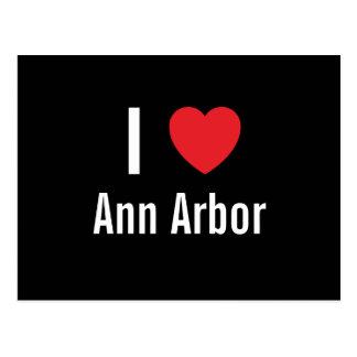 Amo Ann Arbor Tarjetas Postales