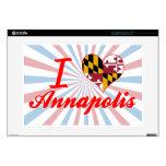 Amo Annapolis, Maryland Skins Para Portátiles