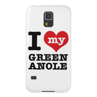 Amo Anole verde Carcasa Para Galaxy S5