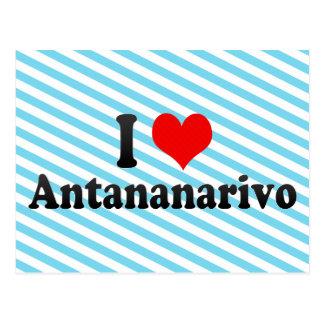 Amo Antananarivo, Madagascar Postales