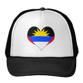 Amo Antigua y Barbuda Gorra