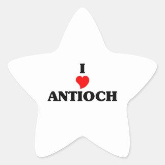 Amo Antioch Pegatina En Forma De Estrella