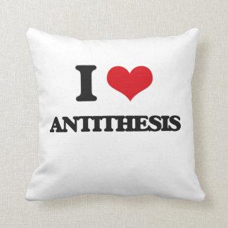 Amo antítesis almohada