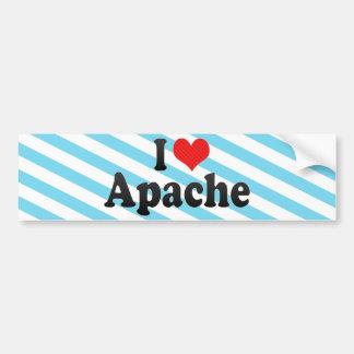 Amo Apache Pegatina De Parachoque