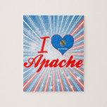 Amo Apache, Oklahoma Rompecabeza Con Fotos