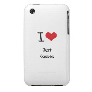 Amo apenas causas Case-Mate iPhone 3 cobertura