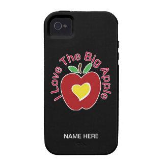 Amo Apple grande iPhone 4/4S Carcasa
