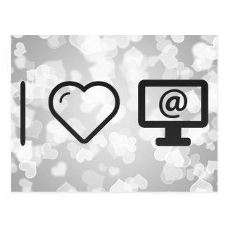 Amo aprendizajes en línea postales