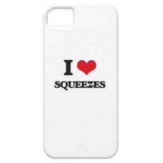 Amo apretones iPhone 5 fundas