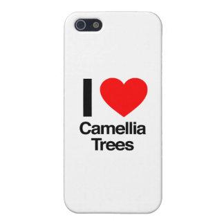 amo árboles de la camelia iPhone 5 funda