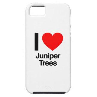 amo árboles del enebro iPhone 5 funda