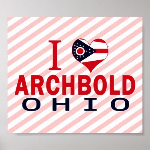 Amo Archbold, Ohio Póster