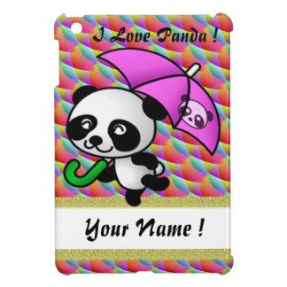 Amo arco iris 8 del ipad de la panda el mini iPad mini carcasa