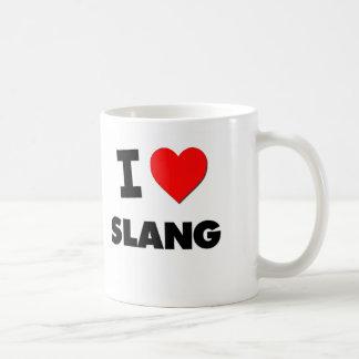 Amo argot taza de café