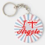 Amo Argyle, Georgia Llaveros Personalizados