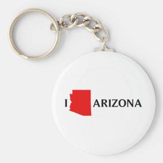 Amo Arizona - amor AZ de I Llavero Redondo Tipo Pin