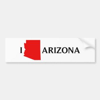 Amo Arizona - amor AZ de I Pegatina Para Auto