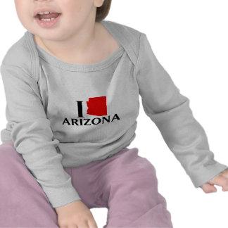Amo Arizona - amor AZ de I Camisetas