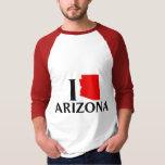 Amo Arizona - amor AZ de I Playera