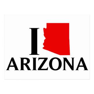 Amo Arizona - amor AZ de I Tarjeta Postal