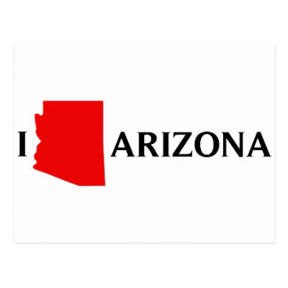 Amo Arizona - amor AZ de I Tarjetas Postales