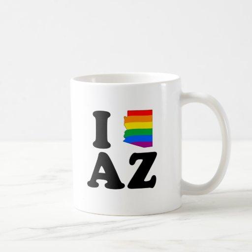AMO ARIZONA GAY TAZAS DE CAFÉ