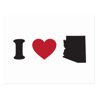 Amo Arizona Postales