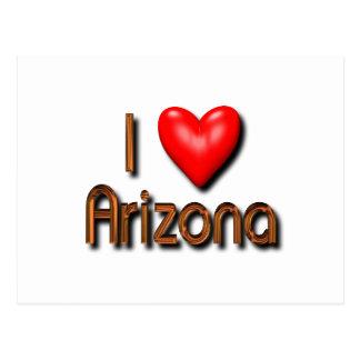 Amo Arizona Tarjeta Postal