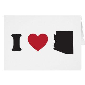 Amo Arizona Tarjeton