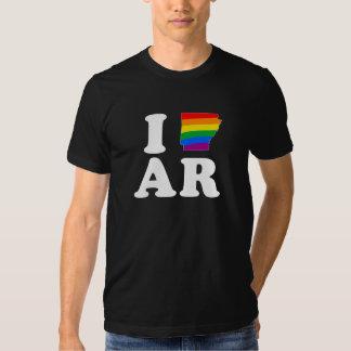 AMO ARKANSAS GAY -- BLANCO - .png Polera