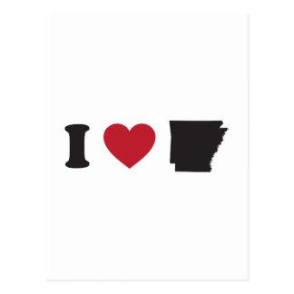 Amo Arkansas Tarjetas Postales