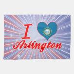Amo Arlington, Dakota del Sur Toalla De Mano