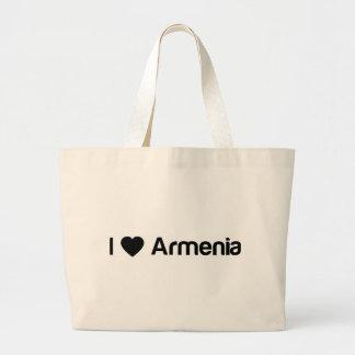 Amo Armenia Bolsa Tela Grande