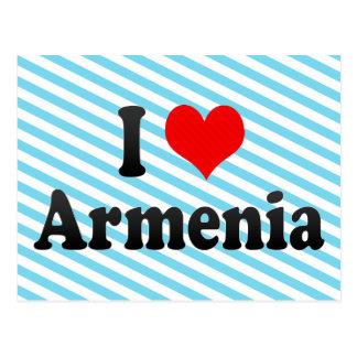 Amo Armenia, Colombia Tarjeta Postal