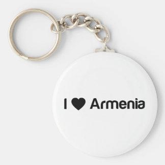Amo Armenia Llavero Redondo Tipo Pin
