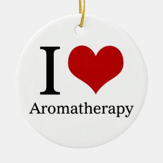 Amo Aromatherapy Adorno Redondo De Cerámica