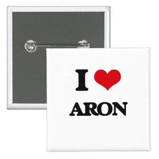 Amo Aron Pin Cuadrada 5 Cm